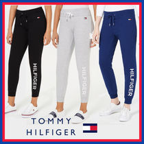 Tommy Hilfiger Casual Style Street Style Plain Cotton Long Short Length