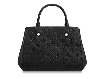 Louis Vuitton Handbags Calfskin 2WAY Plain Elegant Style Handbags 4