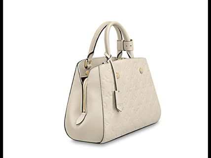 Louis Vuitton Handbags Calfskin 2WAY Plain Elegant Style Handbags 7