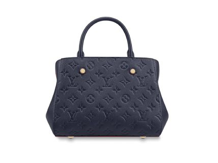 Louis Vuitton Handbags Calfskin 2WAY Plain Elegant Style Handbags 13
