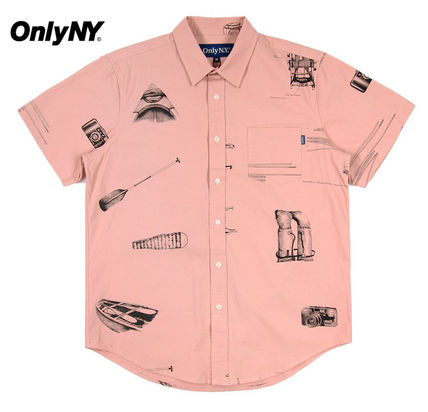 ONLY NY Shirts Street Style Short Sleeves Shirts