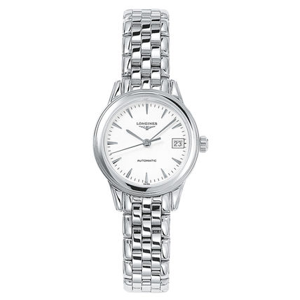 Round Mechanical Watch Stainless Elegant Style