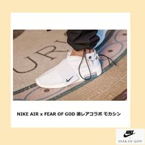 FEAR OF GOD Suede Blended Fabrics Street Style Collaboration Plain