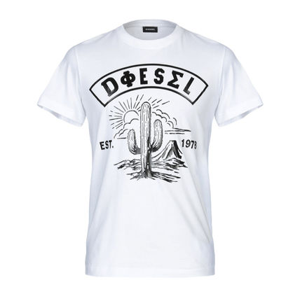 DIESEL More T-Shirts Cotton Short Sleeves T-Shirts 4