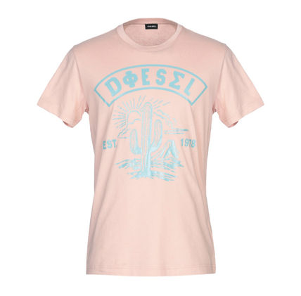 DIESEL More T-Shirts Cotton Short Sleeves T-Shirts 10
