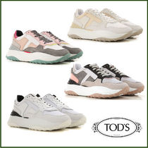 TOD'S Round Toe Low-Top Sneakers