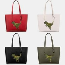 Coach Other Animal Patterns Leather Totes
