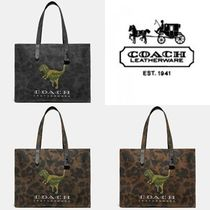 Coach A4 Other Animal Patterns Totes