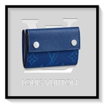 Louis Vuitton Monogram Canvas Blended Fabrics Folding Wallets