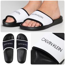 Calvin Klein Unisex Street Style Shower Shoes Shower Sandals