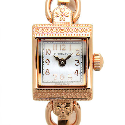 Square Party Style Jewelry Watches Stainless Analog Watches
