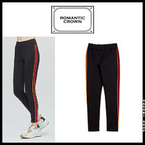 ROMANTIC CROWN Street Style Bottoms