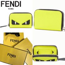 FENDI Leather Coin Cases