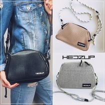 HEDZUP Casual Style Khaki Shoulder Bags