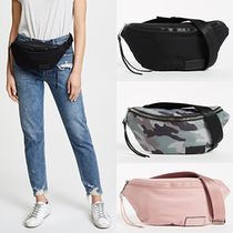 Rebecca Minkoff Camouflage Casual Style Street Style Plain Shoulder Bags