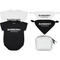 Burberry Unisex Street Style Baby Girl Dresses & Rompers