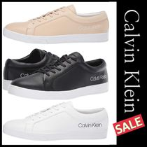 Calvin Klein Street Style Leather Sneakers