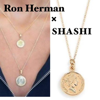 Coin Chain 18K Gold Necklaces & Pendants
