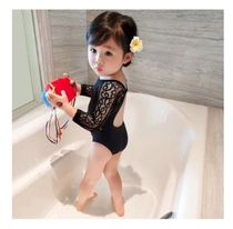 Unisex Oversized Kids Girl Swimwear