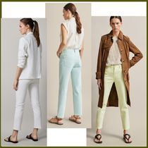 Massimo Dutti Casual Style Plain Cotton Cropped & Capris Pants