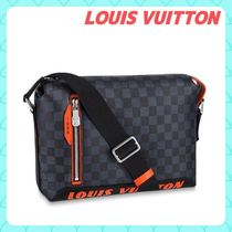 Louis Vuitton DAMIER COBALT Other Check Patterns Unisex Canvas Street Style 2WAY Plain