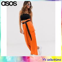 ASOS Casual Style Street Style Plain Culottes & Gaucho Pants