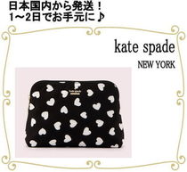 kate spade new york Heart Pouches & Cosmetic Bags