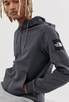 THE NORTH FACE Pullovers Street Style Long Sleeves Plain Cotton Hoodies