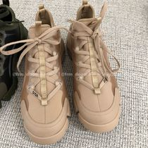 Christian Dior Rubber Sole Plain Low-Top Sneakers