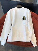 Christian Dior Crew Neck Long Sleeves Cotton Sweatshirts