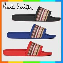 Paul Smith Stripes Unisex Shower Shoes Shower Sandals