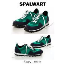 SPALWART Rubber Sole Lace-up Low-Top Sneakers