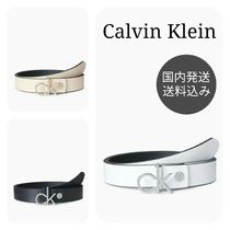 Calvin Klein Casual Style Plain Leather Belts