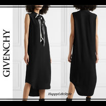 GIVENCHY Sleeveless Plain Medium Elegant Style Dresses