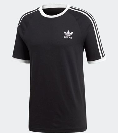 adidas More T-Shirts Unisex Plain Cotton Short Sleeves T-Shirts 4