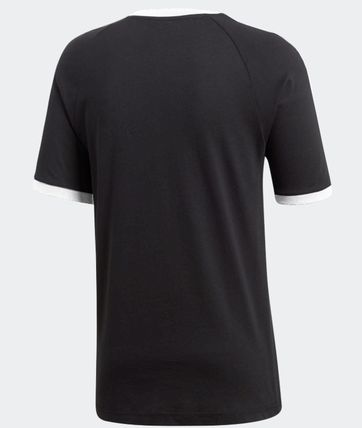 adidas More T-Shirts Unisex Plain Cotton Short Sleeves T-Shirts 5