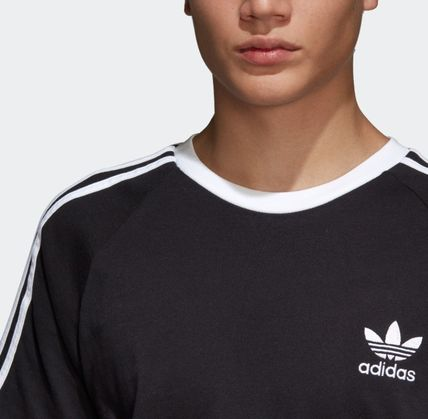 adidas More T-Shirts Unisex Plain Cotton Short Sleeves T-Shirts 6