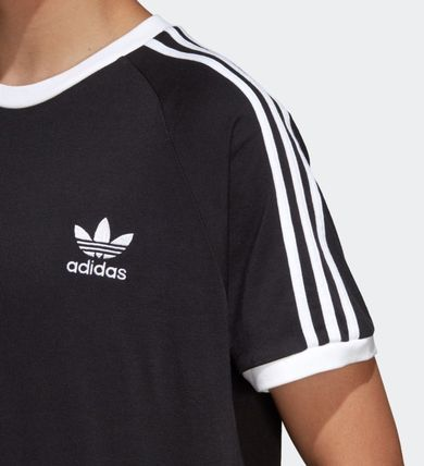 adidas More T-Shirts Unisex Plain Cotton Short Sleeves T-Shirts 7