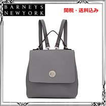 Barneys New York Casual Style Faux Fur Street Style Plain Backpacks