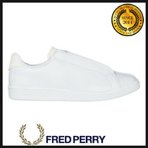 FRED PERRY Plain Leather Loafers & Slip-ons