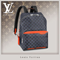 Louis Vuitton DAMIER COBALT Discovery Backpack Pm