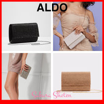 ALDO 2WAY Chain Plain Party Style With Jewels Party Bags