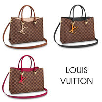 Louis Vuitton DAMIER Other Check Patterns Canvas Blended Fabrics 2WAY
