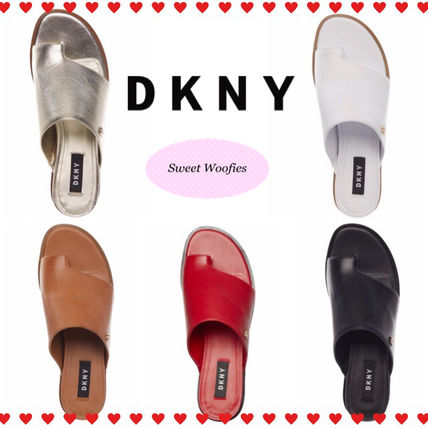Round Toe Rubber Sole Sandals