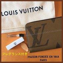 Louis Vuitton ZIPPY WALLET Monogram Bi-color Long Wallets
