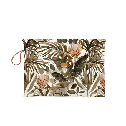 Bag in Bag Other Animal Patterns Leather Handmade