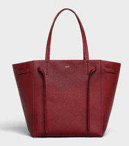 CELINE Cabas Phantom Calfskin A4 2WAY Plain Office Style Totes