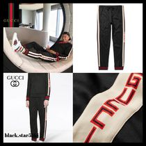 GUCCI Unisex Street Style Pants