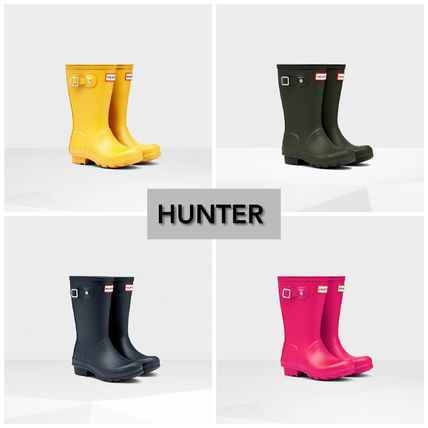 HUNTER Unisex Kids Girl Rain Shoes