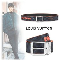Louis Vuitton 2019-20AW DAMIER PRINTED REVERSIBLE BELT damier 85-110 belt